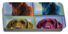 Savannah The Labradoodle Portable Battery Charger