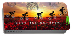 Save The Children Portable Battery Charger