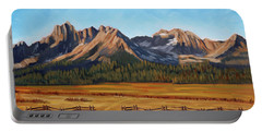 Sawtooth Mountains - Iron Creek Portable Battery Charger