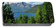Portable Battery Charger featuring the photograph Sawtooth Serenity II by Greg Norrell