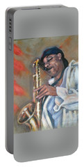 Sax And Linen Portable Battery Charger