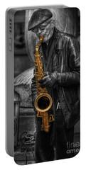 Sax Love Portable Battery Charger by Yhun Suarez