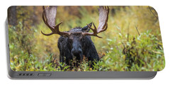 Portable Battery Charger featuring the photograph Say Hello To Custer by Yeates Photography