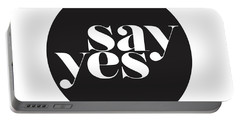 Say Yes Portable Battery Charger