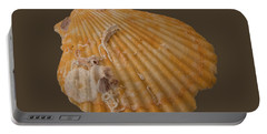 Scallop Shell With Guests Transparency Portable Battery Charger