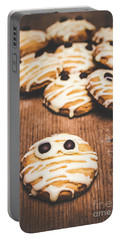 Scared Baking Mummy Biscuit Portable Battery Charger