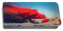 Scarlet Clouds Portable Battery Charger