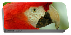 Scarlett Macaw South America Portable Battery Charger