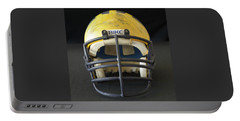 Scarred 1980s Wolverine Helmet Portable Battery Charger