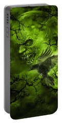 Scary Moon Portable Battery Charger