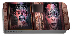 Scary Museum Wallart Portable Battery Charger