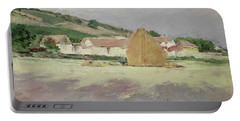 Scene At Giverny, 1890 Portable Battery Charger