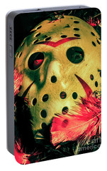 Scene From A Fright Night Slasher Flick Portable Battery Charger by Jorgo Photography - Wall Art Gallery