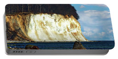 Scenic Rugen Island Portable Battery Charger by Anthony Dezenzio