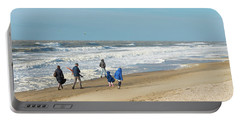 Scheveningen Beach Netherlands Portable Battery Charger