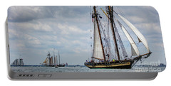 Schooner Pride Of Baltimore Portable Battery Charger