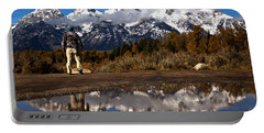 Schwabacher Landing Hiker Reflections Portable Battery Charger