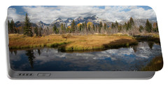 Schwabachers Landing, Grand Teton National Park Wyoming Portable Battery Charger