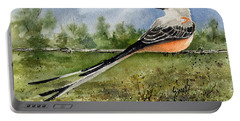 Scissor-tail Flycatcher Portable Battery Charger