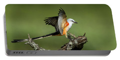 Scissor-tailed Flycatcher Portable Battery Charger
