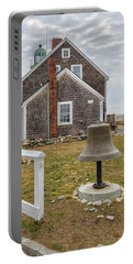 Scituate Lighthouse And Us Lighthouse Service Bell Portable Battery Charger