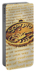 Scorpio Star Sign Token Portable Battery Charger