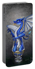 Portable Battery Charger featuring the digital art Scotch Dragon by Stanley Morrison