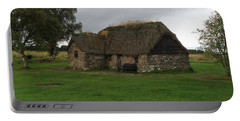 Portable Battery Charger featuring the photograph Scotish Croft by Mary-Lee Sanders