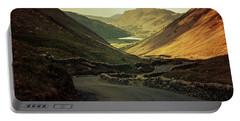 Scotland At The Sunset Portable Battery Charger by Jaroslaw Blaminsky