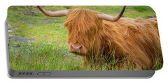 Scotland Portable Battery Charger by Milena Boeva