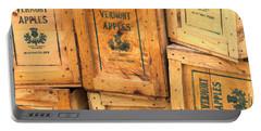 Scott Farm Apple Boxes Portable Battery Charger