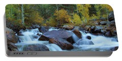 Portable Battery Charger featuring the photograph Scott Gomer Creek At Guanella Pass by Marie Leslie