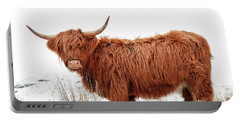Scottish Highland Cow Portable Battery Charger