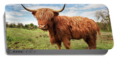 Scottish Highland Cow - Trossachs Portable Battery Charger