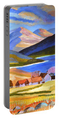 Scottish Highlands 2 Portable Battery Charger by Magdalena Frohnsdorff