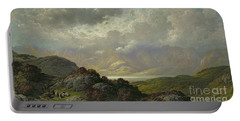 Scottish Landscape Portable Battery Charger