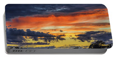 Portable Battery Charger featuring the photograph Scottish Sunset by Jeremy Lavender Photography