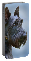 Scottish Terrier Dog Portable Battery Charger