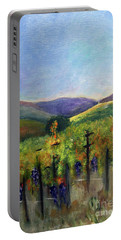 Scotts Vineyard Portable Battery Charger by Donna Walsh