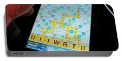 Scrabble Portable Battery Charger