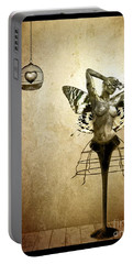 Scream Of A Butterfly Portable Battery Charger