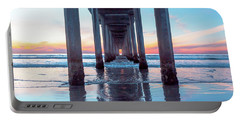 Scripps At Sunset Portable Battery Charger
