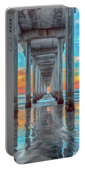Scripps At Sunset Vertical Portable Battery Charger
