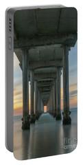 Scripps Pier Pillars  Portable Battery Charger