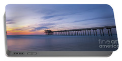 Scripps Pier Silhouette  Portable Battery Charger