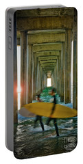 Scripps Pier Surfers Portable Battery Charger