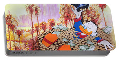 Scrooge In La Portable Battery Charger
