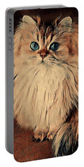 Scruffy's Portrait Portable Battery Charger