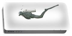 Scuba Diver  Portable Battery Charger