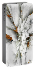Portable Battery Charger featuring the digital art Sculptural Series Digital Painting 05.072311 by Kris Haas